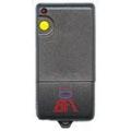 Emisor 1 canales código fijo, binario 10 dígitos.Frecuencia 433,92 MHz.