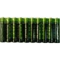 El Lot de 10 Pilas 1,5 Voltios LR03 AAA Alcalina Calidad Superior